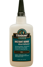 Instant Bond Wood Adhesive Gel
